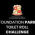 JUST FOR FUN - On Monday, the Community Foundation team thought they'd put their own spin on the Toilet Roll challenge...