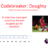 Are you ready for another #PLPrimaryStars maths code breaker with Swindon Town Football Club midfield maestro Michael Doughty. Can you break the code?