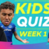 How much do your kids know about football, try the Premier League's Football Quiz for Kids!